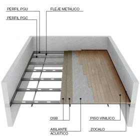 Entrepiso Steel Framing