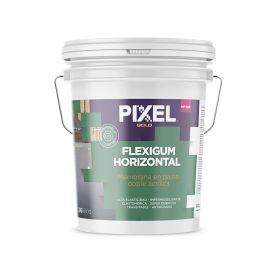 Membrana liquida doble acrilica impermeabilizante Flexigum MP-600 techos transitable en pasta blanco balde x 26kg