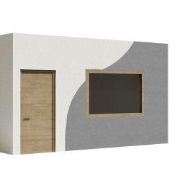 Pintado de superficies interiores y exteriores con látex