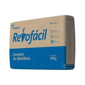 Cemento albañileria Revofacil no estructural bolsa x 40kg