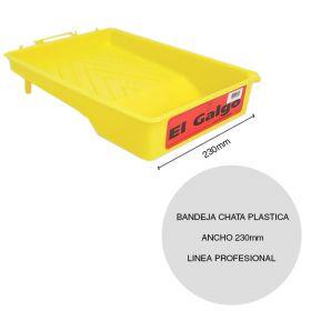Bandeja chata plastica pintor linea Profesional ancho 230mm