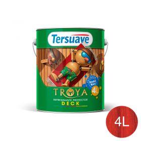 Impregnante protector deck Troya cerezo trasparente satinado lata x 4l