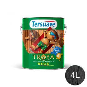 Impregnante protector deck Troya habano trasparente satinado lata x 4l