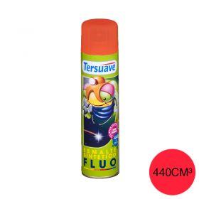 Aerosol esmalte sintetico fluo rojo mate x 440cm³