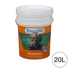 Pintura latex acrilico profesional interior blanco mate balde x 20l