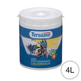 Pintura latex acrilico cielorraso anticondensante interior blanco mate balde x 4l