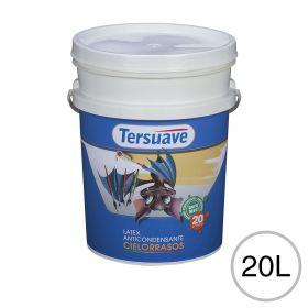 Pintura latex acrilico cielorraso anticondensante interior blanco mate balde x 20l