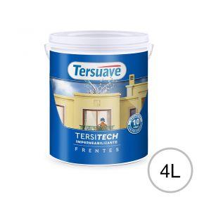 Impermeabilizante frentes Tersitech blanco semi mate balde x 4l