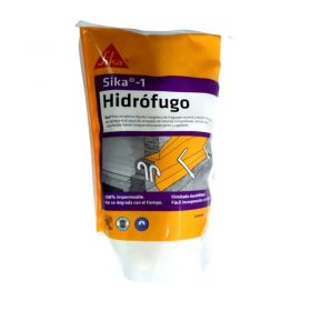 Aditivo hidrofugo mezclas cementicias Sika-1 inorganico pack x 1kg