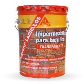 Impermeabilizante protector frentes Sikaguard ladrillos profesional base acuosa balde x 20l