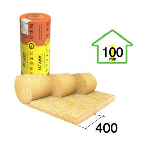 Acustiver R 100mm x 400mm x 7500mm rollo 3u x 9m²