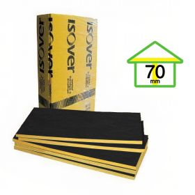 Acustiver P con velo negro 70mm x 960mm x 1200mm pack 8u x 9.21m²