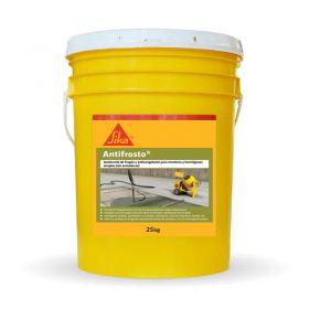 Aditivo acelerante fragüe y anticongelante hormigones Sika Antifrosto balde x 25kg