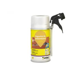 Espuma poliuretano expansiva Weber espuma PU aerosol x 300ml