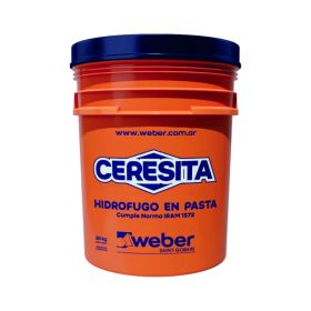 Aditivo hidrofugo Ceresita en pasta balde x 20kg