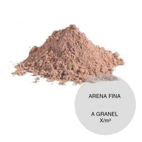 Arena fina construccion granel x/m³