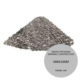 Piedra triturada material compactacion relleno construccion entre 0mm/20mm granel x/m³
