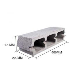Bloque LT12 hormigon losa viguetas 120mm x 200mm x 400mm