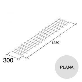 Malla acero plana refuerzo Concrehaus 300mm x 1230mm