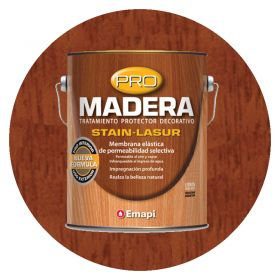 PRO MADERA STAIN LASUR CAOBA SAT 1L