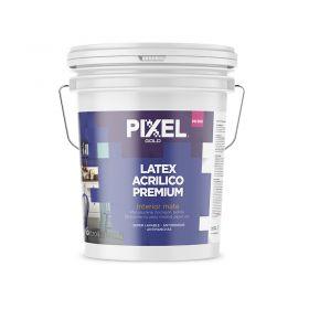 Pintura latex acrilico interior MI-300 premium lavable antihongos antimancha blanco mate balde x 10l